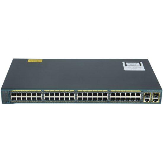 Catalyst 2960 Plus 48 10/100 + 2 T/SFP LAN Lite # WS-C2960+48TC-S