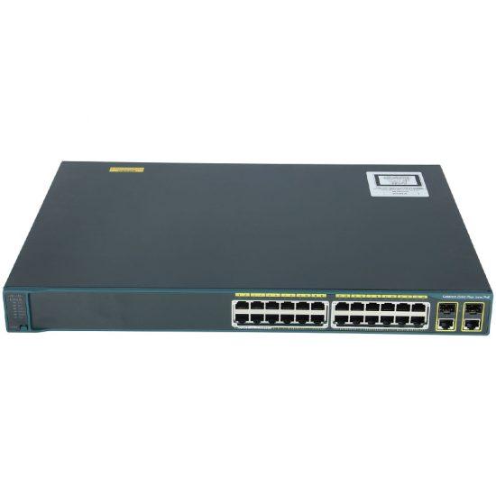 Catalyst 2960 Plus 24 10/100 (8 PoE) + 2 T/SFP LAN Lite # WS-C2960+24LC-S