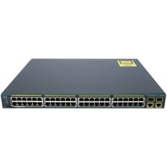 Catalyst 2960 48 10/100 PoE + 2 1000BT +2 SFP LAN Base Image # WS-C2960-48PST-L