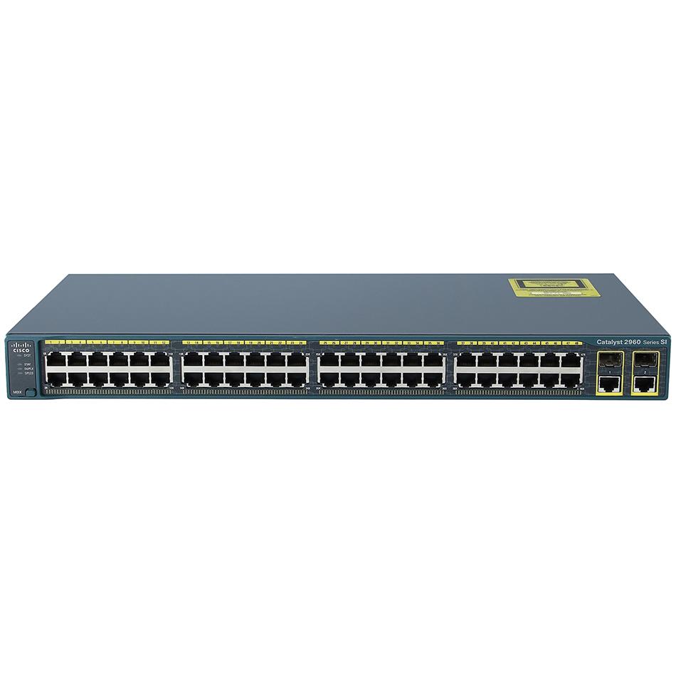 Catalyst 2960 48 10/100 + 2 T/SFP LAN Lite Image # WS-C2960-48TC-S