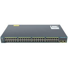 Catalyst 2960 48 10/100 + 2 1000BT LAN Base Image # WS-C2960-48TT-L