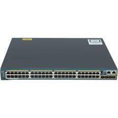 Catalyst 2960S 48 GigE PoE 370W, 2 x 10G SFP+ LAN Bas # WS-C2960S-48LPD-L