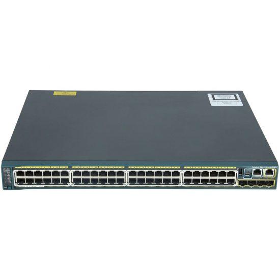 Catalyst 2960S 48 GigE, 4 x SFP LAN Base # WS-C2960S-48TS-L