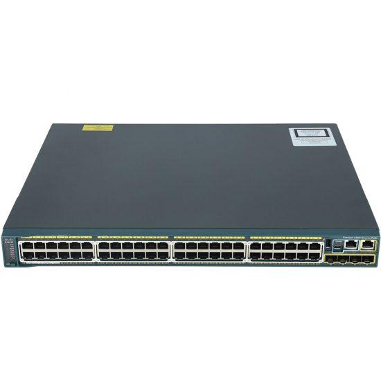 Catalyst 2960S 48 GigE PoE 370W, 4 x SFP LAN Base # WS-C2960S-48LPS-L