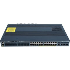 Catalyst 2960-X 24 GigE PoE 110W, 2xSFP + 2x1GBT, LAN Base # WS-C2960X-24PSQ-L