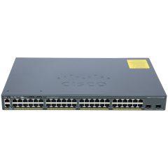 Catalyst 2960-X 48 GigE, 2 x 10G SFP+, LAN Base # WS-C2960X-48TD-L