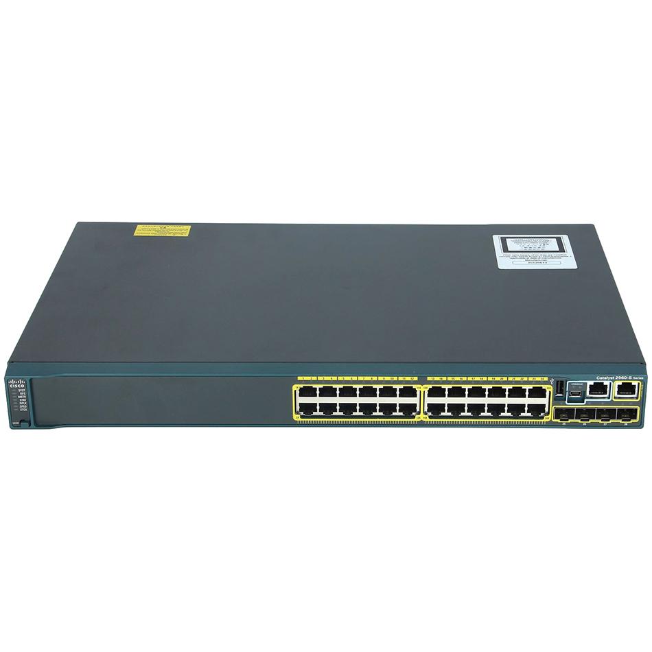 Catalyst 2960S 24 GigE, 4 x SFP LAN Base # WS-C2960S-24TS-L