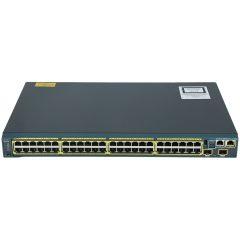 Catalyst 2960S 48 GigE, 2 x 10G SFP+ LAN Base # WS-C2960S-48TD-L
