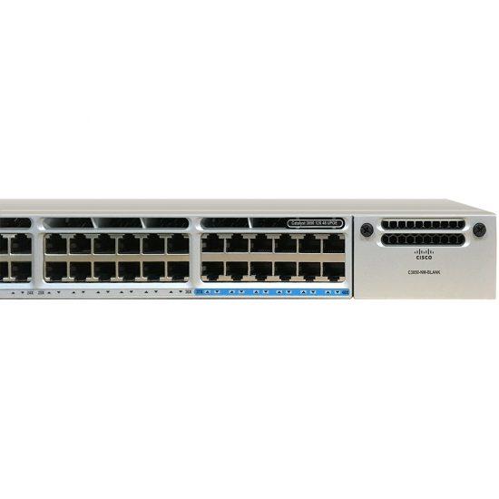 Cisco Catalyst 3850 48 Port (12 mGig+36 Gig) UPoE LAN Base # WS-C3850-12X48U-L