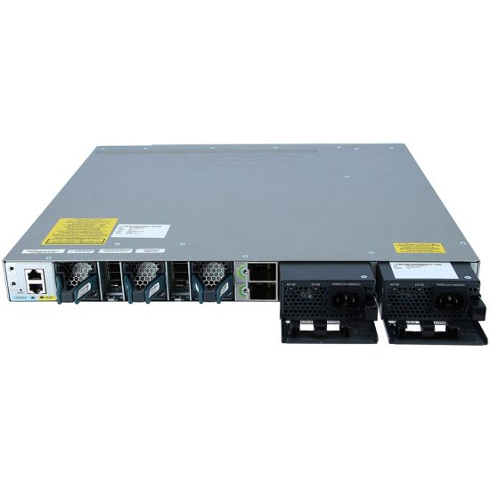 Cisco Catalyst 3850 48 Port Full PoE IP Services # WS-C3850-48F-E