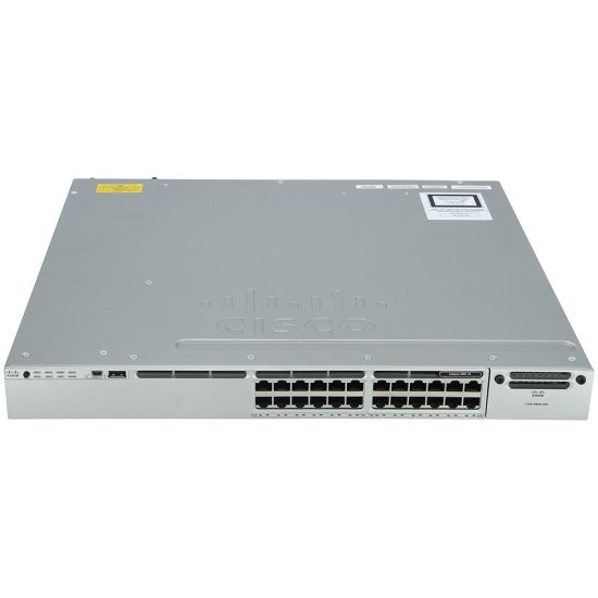 Cisco Catalyst 3850 24 Port PoE IP Base # WS-C3850-24P-S