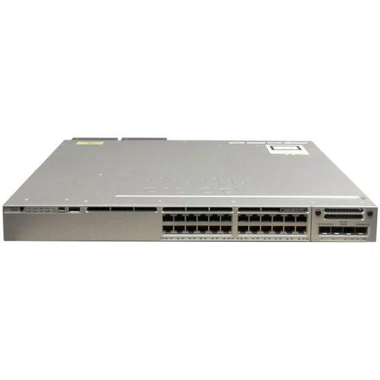 Cisco Catalyst 3850 24 Port UPOE with 5 AP licenses IP Base  # WS-C3850-24UW-S