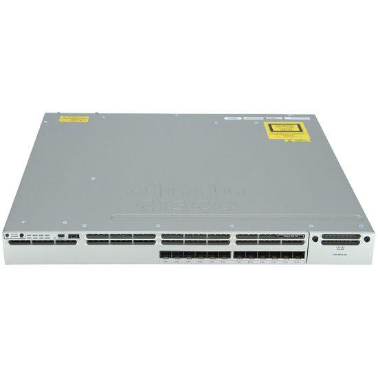 Cisco Catalyst 3850 12 Port 10G Fiber Switch IP Base # WS-C3850-12XS-S