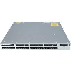 Cisco Catalyst 3850 24 Port 10G Fiber Switch IP Services  # WS-C3850-24XS-E