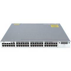 Cisco Catalyst 3850 48 Port Full PoE w/ 5 AP license IP Base  # WS-C3850-48PW-S