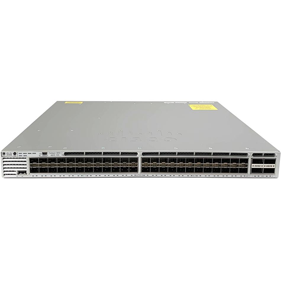 Cisco Catalyst 3850 48 Port 10G Fiber Switch IP Services  # WS-C3850-48XS-E
