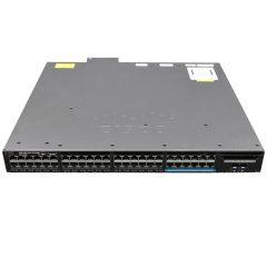 Cisco Catalyst 3650 48 Port mGig, 8x10G Uplink, IP Base # WS-C3650-12X48UR-S