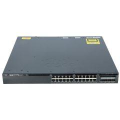 Cisco Catalyst 3650 24 Port PoE 4x1G Uplink IP Services # WS-C3650-24PS-E
