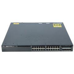 Cisco Catalyst 3650 24 Port PoE 4x1G Uplink IP Base # WS-C3650-24PS-S