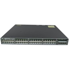 Cisco Catalyst 3650 48 Port Full PoE 4x10G Uplink LAN Base # WS-C3650-48FQ-L