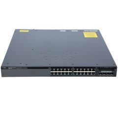 Cisco Catalyst 3650 24 Port Data 4x1G Uplink IP Base # WS-C3650-24TS-S