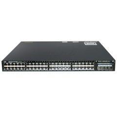 Cisco Catalyst 3650 48 Port Full PoE 2x10G Uplink LAN Base # WS-C3650-48FD-L