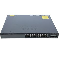 Cisco Catalyst 3650 24 Port Data 4x1G Uplink LAN Base # WS-C3650-24TS-L