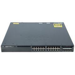 Cisco Catalyst 3650 24 Port Data 4x1G Uplink IP Services # WS-C3650-24TS-E