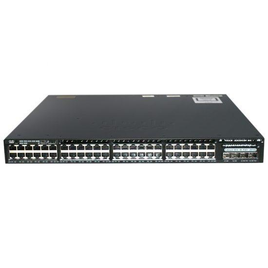 Cisco Catalyst 3650 48 Port Full PoE 2x10G Uplink IP Base # WS-C3650-48FD-S