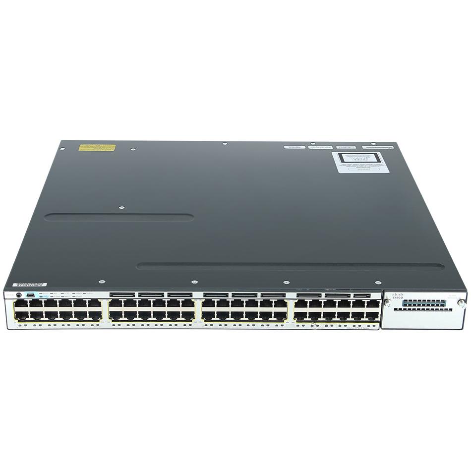 Catalyst 3750X 48 Port Data IP Base# WS-C3750X-48T-S