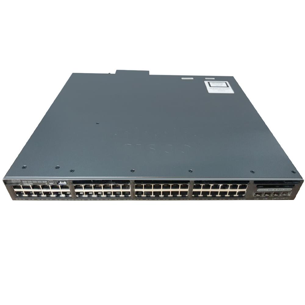 Cisco Catalyst 3650 48 Port PoE 2x10G Uplink IP Base # WS-C3650-48PD-S