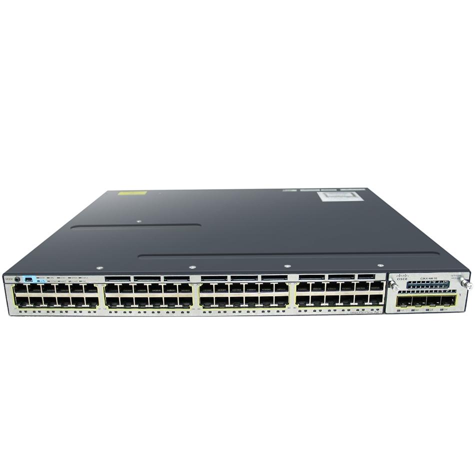 Catalyst 3750X 48 Port Full PoE IP Services # WS-C3750X-48PF-E