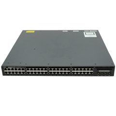 Cisco Catalyst 3650 48 Port Data 4x1G Uplink LAN Base # WS-C3650-48TS-L