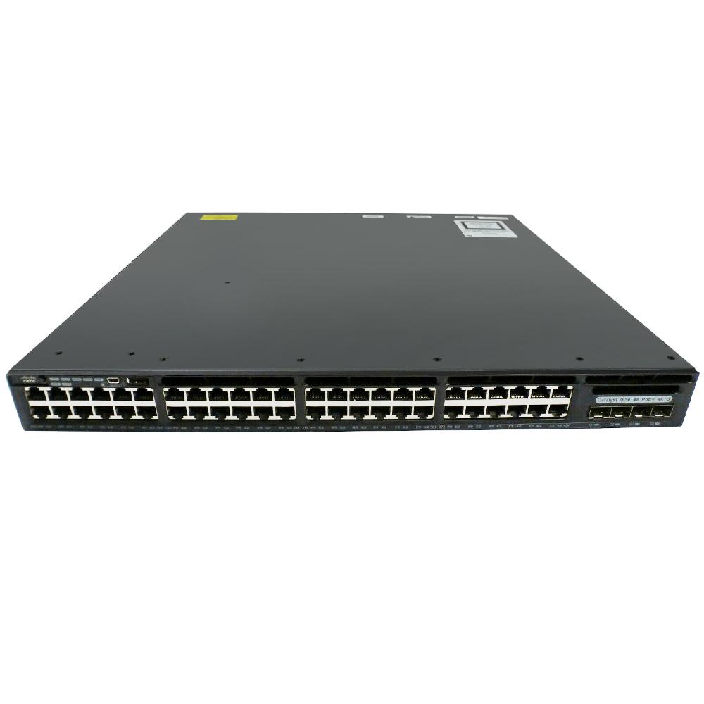 Cisco Catalyst 3650 48 Port Data 2x10G Uplink IP Base # WS-C3650-48TD-S