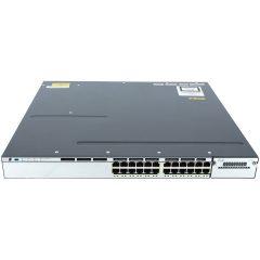 Catalyst 3750X 24 Port PoE LAN Base  # WS-C3750X-24P-L