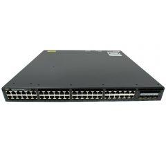 Cisco Catalyst 3650 48 Port PoE 4x1G Uplink IP Services # WS-C3650-48PS-E