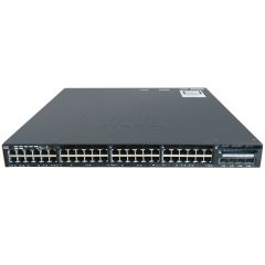 Cisco Catalyst 3650 48 Port Full PoE 4x1G Uplink IP Services # WS-C3650-48FS-E