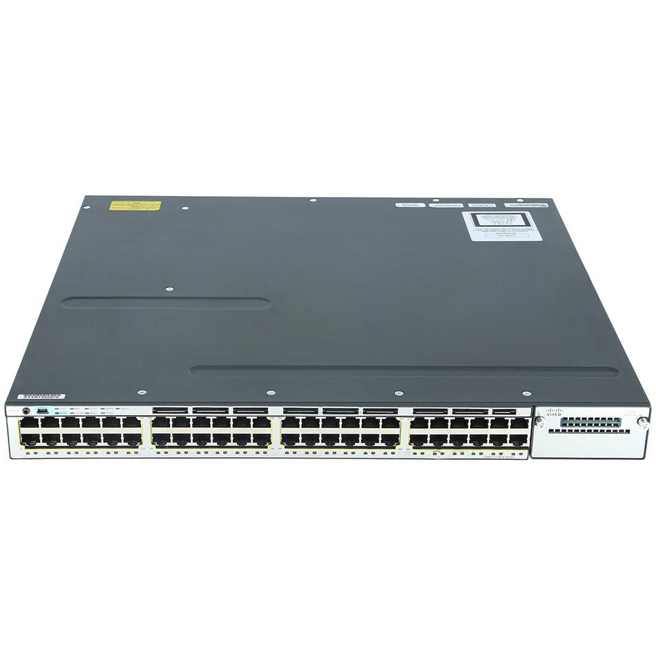 Catalyst 3750X 48 Port PoE IP Services # WS-C3750X-48P-E