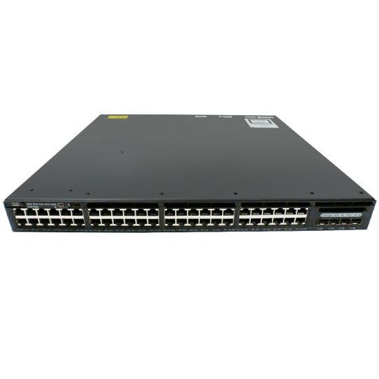 Cisco Catalyst 3650 48 Port PoE 4x1G Uplink IP Base # WS-C3650-48PS-S