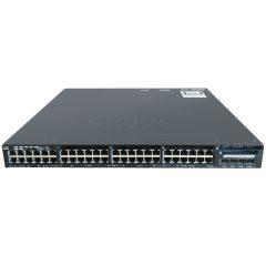 Cisco Catalyst 3650 48 Port Full PoE 4x1G Uplink LAN Base # WS-C3650-48FS-L