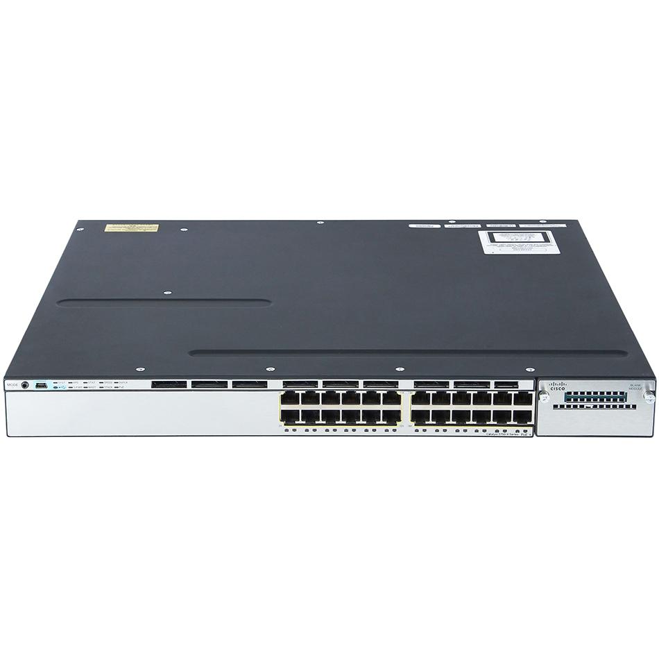 Catalyst 3750X 24 Port PoE IP Base # WS-C3750X-24P-S