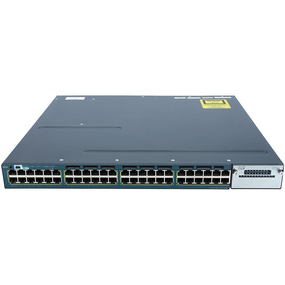 Catalyst 3560X 48 Port PoE IP Base # WS-C3560X-48P-S