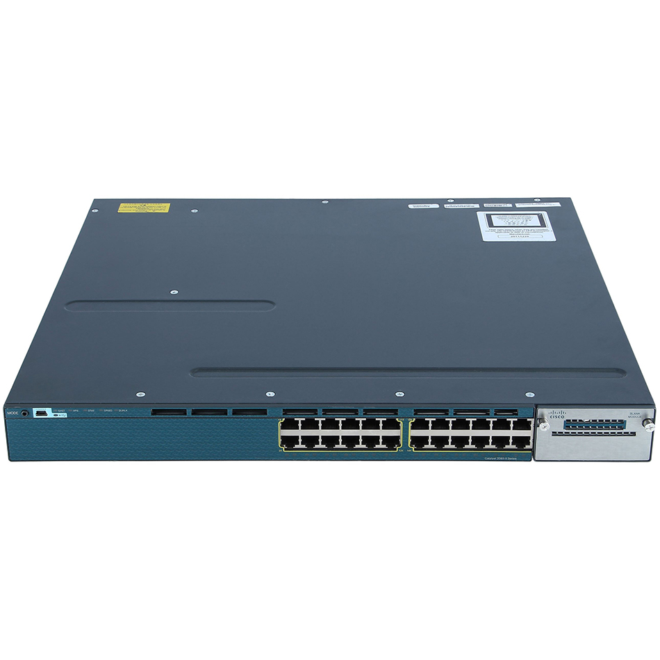 Catalyst 3560X 24 Port Data IP Base # WS-C3560X-24T-S
