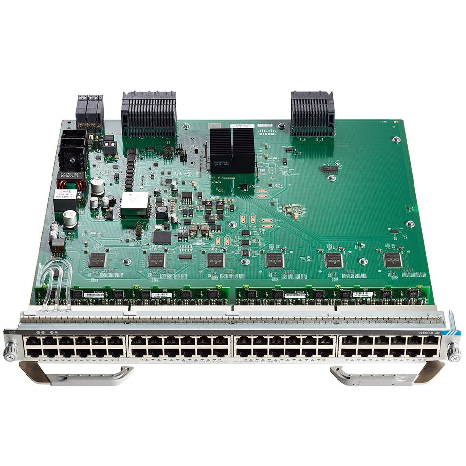 Cisco Catalyst 9400 Series 48Port UPOE w/ 24p mGig 24p RJ-45 # C9400-LC-48UX