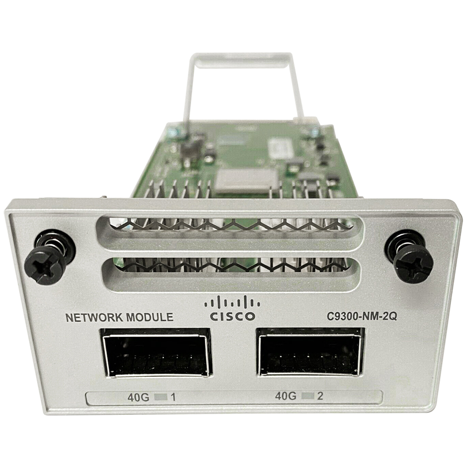 Catalyst 9300 2 x 40GE Network Module # C9300-NM-2Q