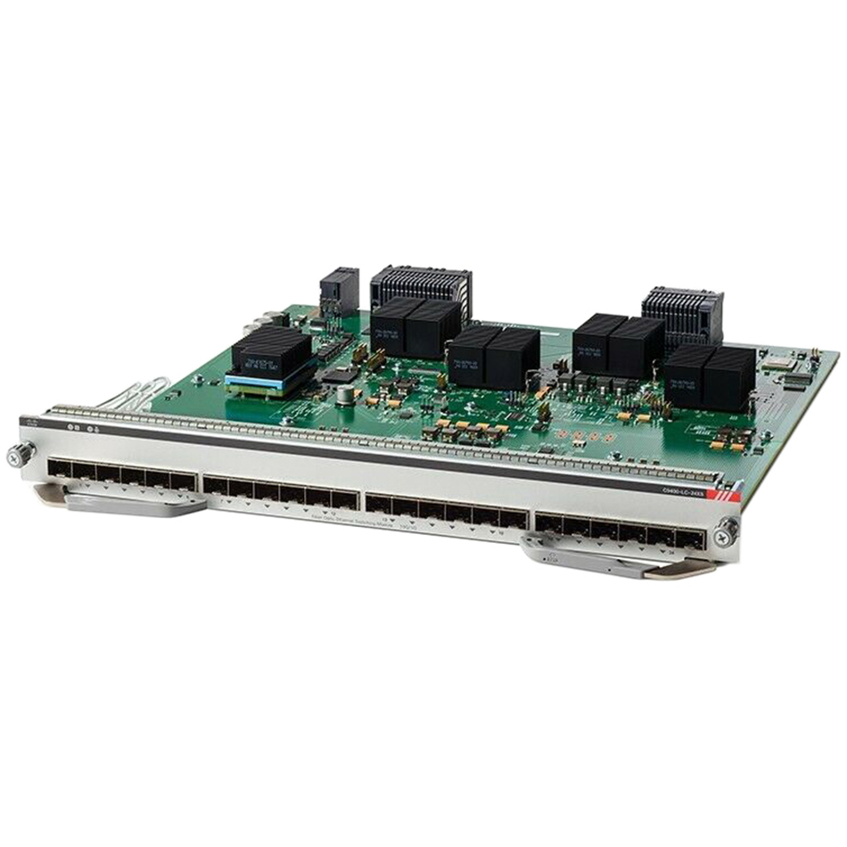 Cisco Catalyst 9400 Series 24-Port 10 Gigabit Ethernet(SFP+) # C9400-LC-24XS