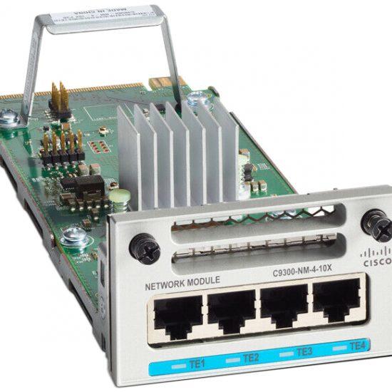 Catalyst 9300 4 x mGig Network Module # C9300-NM-4M
