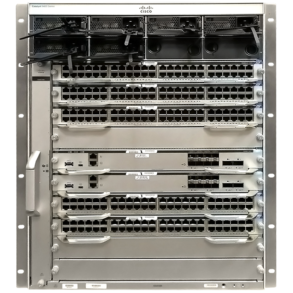 Cisco Catalyst 9400 Series 10 slot chassis # C9410R