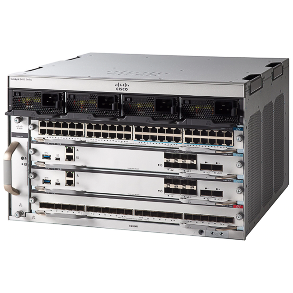 Cisco Catalyst 9400 Series 4 slot chassis # C9404R