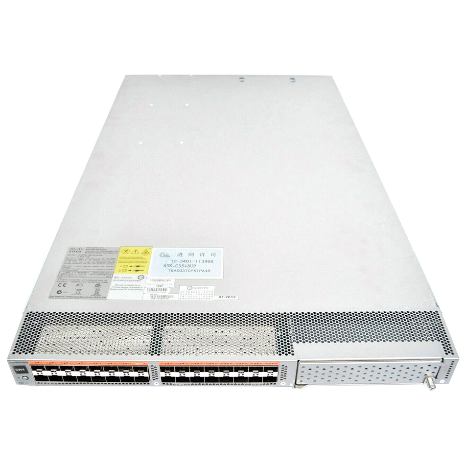 Nexus 5548 UP Chassis, 32 10GbE Ports, 2 PS, 2 Fans # N5K-C5548UP-FA